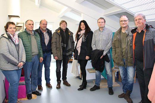 Von links: Kerstin Esch , Hans Peter Ehrentraut, Roland Metz, Willi Marme`, Claudia Jungbluth, Jürgen Brüggemann, Christoph Jungbluth und Hans Richer. Foto: Privat