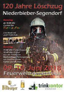 120 Jahre Löschzug Niederbieber-Segendorf @ Feuerwehr Niederbieber-Segendorf | Neuwied | Rheinland-Pfalz | Deutschland