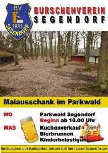 Maiausschank - BV Segendorf @ Parkwald Segendorf | Neuwied | Rheinland-Pfalz | Deutschland