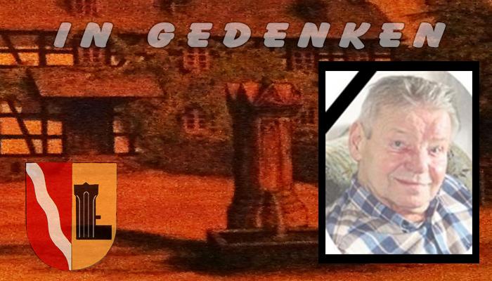 Wolfgang Ecker verstorben