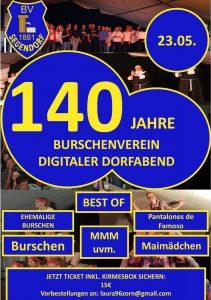 140 Jahre Burschenverein Segendorf @ online